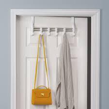 Over Door Closet Organizer - lynk over door adjustable hooks