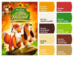 30 best color combinations inspired by disney movies images on