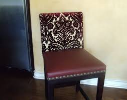 Design Ideas For Chair Reupholstery Dining Room Chair Reupholstering Home Design Plan