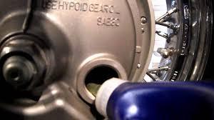 2009 honda shadow 750 aero rear differential service youtube