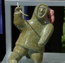 Soapstone For A Modest Proposal Remarkable Eskimo Carvings Given To British Dentist As A Gift For