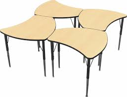 Desk Shapes Shapes Configurable Student Desk