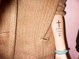 faith hope love wrist tattoo photo 1 2017 real photo pictures