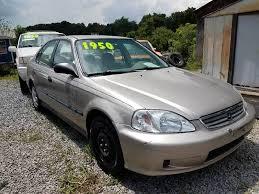 2000 honda civic sedan 2000 honda civic lx 4dr sedan in mount tn rocket center