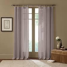 3 Inch Rod Pocket Sheer Curtains Cambria Terra X Inch Rod Pocket Sheer Window Curtain Panel Bed