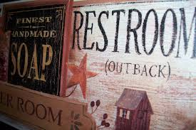 primitive decorating ideas for bathroom restroom wall decor with wall decor for bathrooms 16
