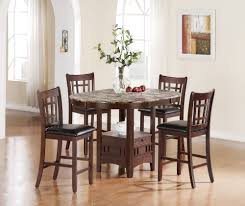 high top round kitchen table what is a good width high top dining table the home redesign