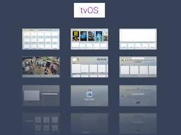 apple tvos ui kit free sketch app resources pinterest ui kit
