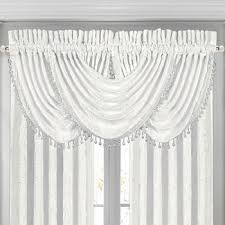 Red Scarf Valance Window Scarves Jcpenney