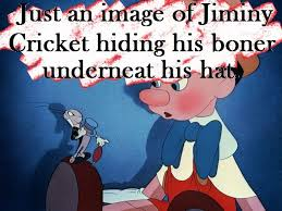 Jiminy Cricket Meme - jiminy cricket