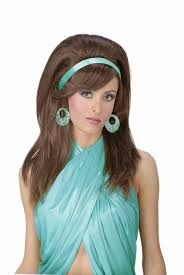 amazon com forum novelties women u0027s 60 u0027s mod wig auburn one size