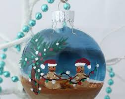 themed snowman ornament painted glass
