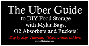 where to buy mylar bags locally the uber guide to diy food storage with mylar bags o2 absorbers