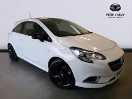 vauxhall white 2016 vauxhall corsa hatchback special eds 1 4 75 limited