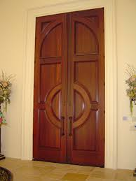 Solid Wooden Exterior Doors Contemporary Solid Wood Exterior Doors Homes Design