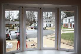 before after modern bow window replacement windows from replacement windows vienna va