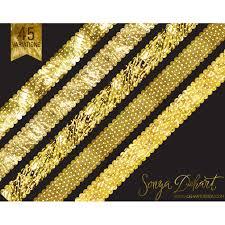 gold glitter ribbon clip gold glitter polka dot ribbons