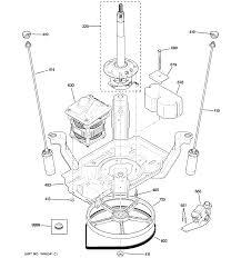 ge washer motor 5kh61kw2516hs partsreadyonline com