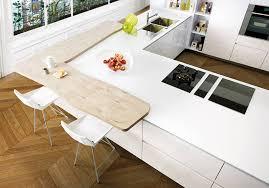 le plan de travail cuisine un plan de travail blanc pour une cuisine épurée des plans de