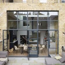 cuisine atelier d artiste verrière extérieure atelier pour conférer à la maison un aspect