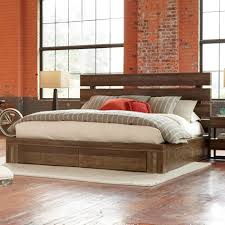 King Wood Bed Frame King Size Bed Size Captains Bed Solid Wood Plain Wooden Bed