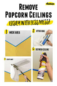 best 25 removing popcorn ceiling ideas on pinterest popcorn
