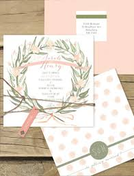 wedding invitations online australia watercolour wreath flat card invitation online australia