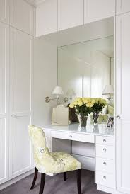 Contemporary Makeup Vanity Contemporary Makeup Vanity Closet Traditional With Shaker Style