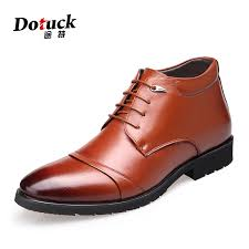 Comfortable Ankle Boots Winter Warm Genuine Leather Boots Fashion Men Winter Boots