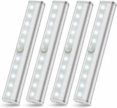 best wireless cabinet lighting motion sensor 4 packs wireless cabinet lighting battery powered led