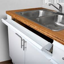sink kitchen cabinet mat original white 36in cabinet door edge protector from nicks water daily wear