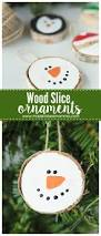 wood slice ornaments the perfect 30 minutes gift idea that your