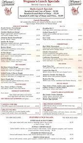 wegmans thanksgiving dinner take out wegman u0027s restaurant menu