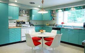 modular kitchen with dining table rdcny