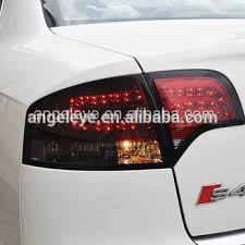 audi a4 tail lights led rearlights for audi a4 b7 led tail light rear l dark red