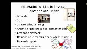 literacy in health and physical education youtube