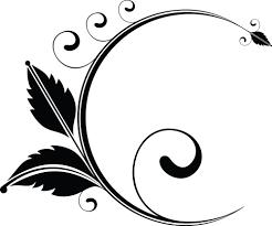 design clipart clipart of a floral design element