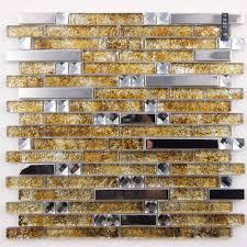 Aluminum Backsplash Sheets by Metal And Glass Diamond Silver Stainless Steel Backsplash Tiles