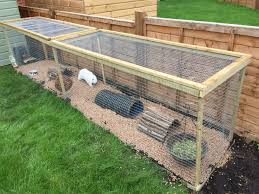 Build Your Own Rabbit Hutch Homemade Rabbit Run U2026 Pinteres U2026