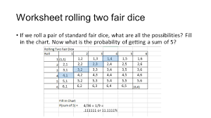Probability Independent Events Worksheet Probability Ppt Video Online Download