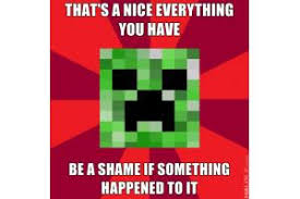 Creeper Meme - creeper meme s are getting old minecraft blog