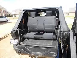 jeep wrangler backseat jeep jk 3rd row seat write up 4x4 and jeep stuff pinterest