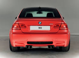Bmw M3 Red - frozen japan red bmw m3 m performance edition rear eurocar news