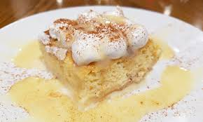 recipe to make a torta tres leches like chef cesar gonzalez