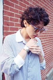 best 25 curly pixie cuts ideas on pinterest curly pixie short