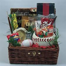 Baseball Gift Basket Sports Lover Archives Naturally Inspired Gifts