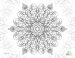 delicate flower free printable coloring pages adults mental