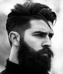haircut with weight line photo pictures on hair and beard combinations shoulder length hairstyles