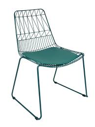 Net Outdoor Chair Replica Bend Wire Lucy Dining Chairs Stackable - Bend furniture