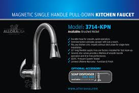 delta allora kitchen faucet allora kitchen faucet 3714 kpn